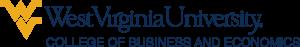 West Virginia University - College of Business and Economics Logo