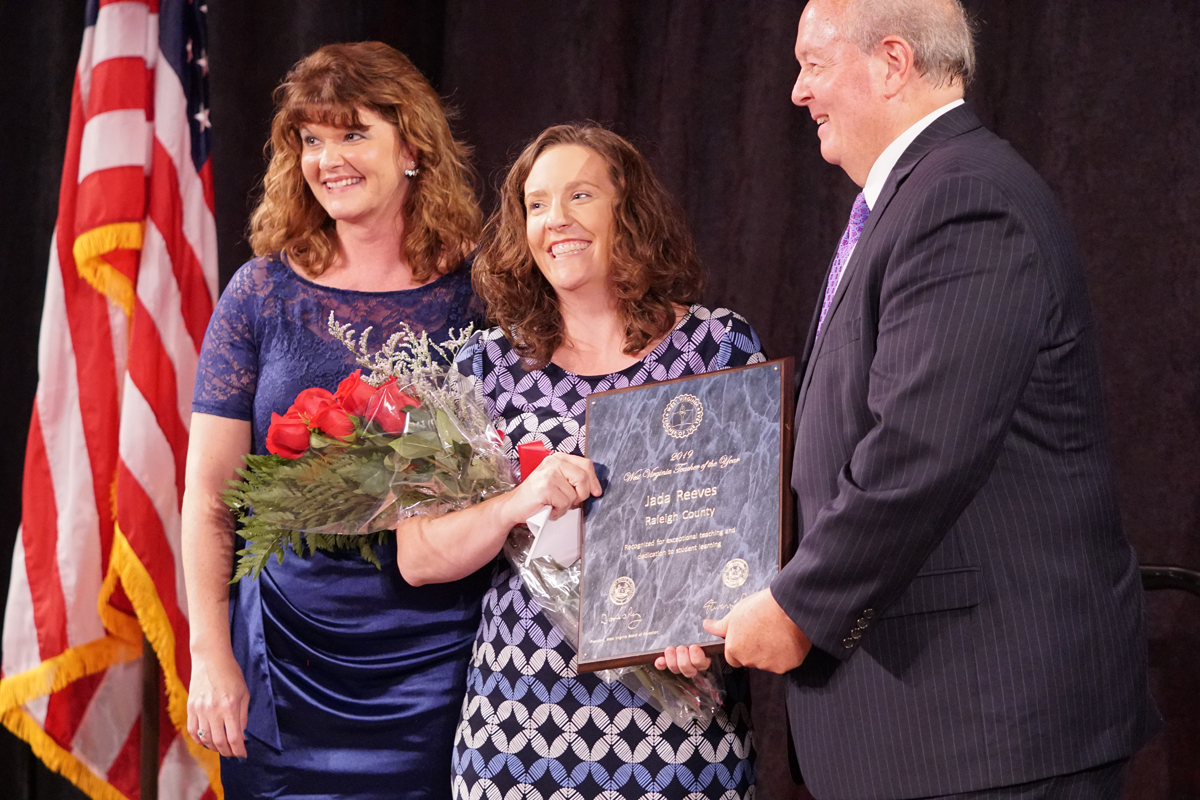 2019 teacher of the year ceremony
