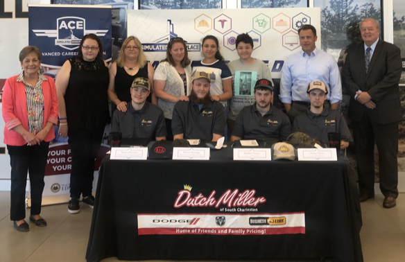 Career Tech Students Participate in Career Signing Day